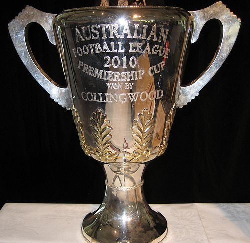 2010 ALF Premiership Cup at ALF Lunch May 2012