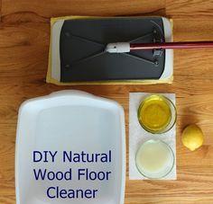 Attractive DIY Natural Wood Floor Polishing Cleaner