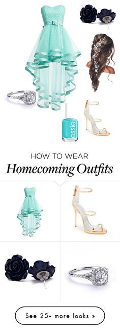 """""""formal"""" by stellamj on Polyvore featuring Giuseppe Zanotti and Essie"""