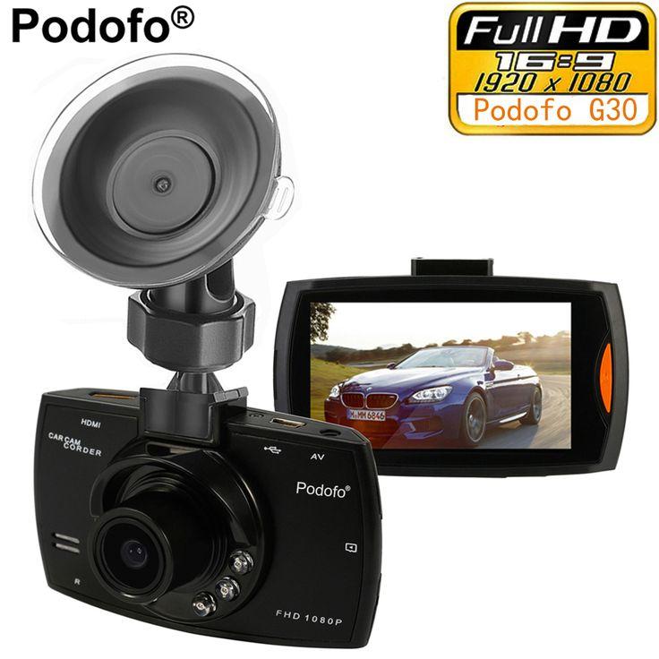 check discount podofo car camera g30 full hd 1080p 2 7 car dvr recorder motion detection night vision #led #light #box