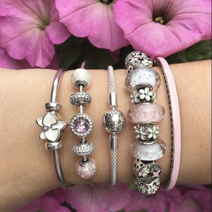 pandora jewelry new orleans | Pulsera pandora charms, Cadena de ...