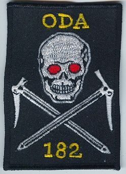 1st Special Forces Group Pocket Patches Operational Detachment A-182 B Company, 3rd Battalion Type 5
