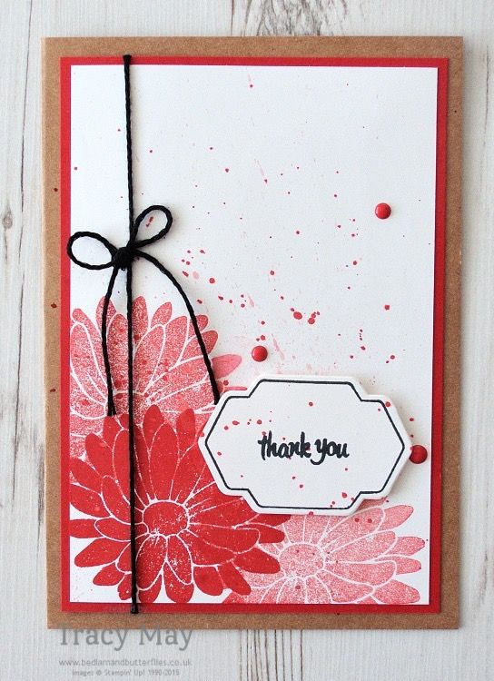 Special Reason by Stampin' Up! - this week's color challenge from Create with Connie & Mary is just up my street! Come and see what I've made