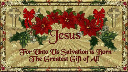 Christmas Photo: Jesus is the reason for the season <3