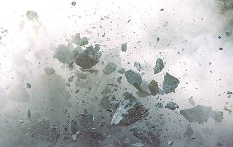 Naoya Hatakeyama uses remote-control cameras to capture the drama and destruction of Japan's limestone blasting operations from point-blank range – from his 'Blast' series