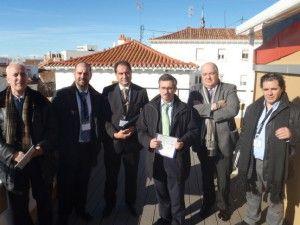 20-12-2013. #proyectoprei. visita institucional Comunidad de Madrid, Emvs, Ayuntamiento de Madrid, Idae