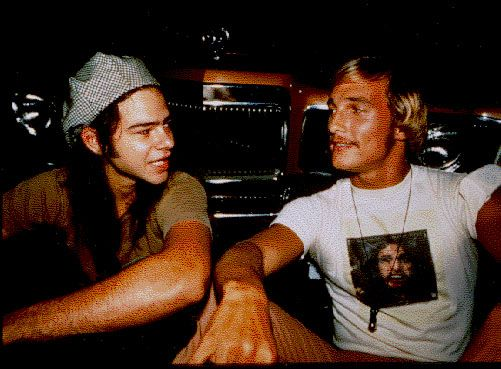 All right, all right, all right...  DAZED AND CONFUSED MOVIE! (Oh my @Michelle McGee) my favorite.