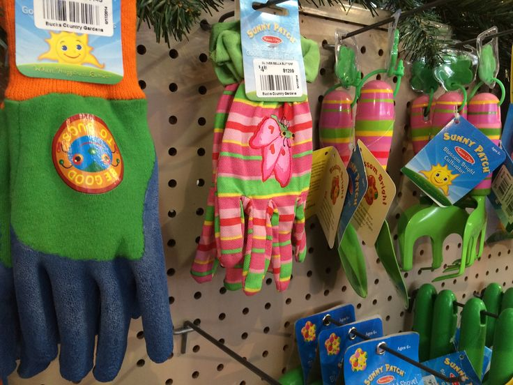 We have garden tools & gloves for children so that you can share the joy of gardening with your children. Available at Bucks Country Gardens, Doylestown PA. #gardening #kidsactivities