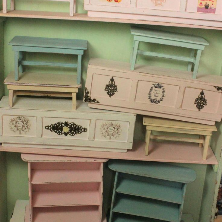 New miniature furnitures available in my shop 💖
