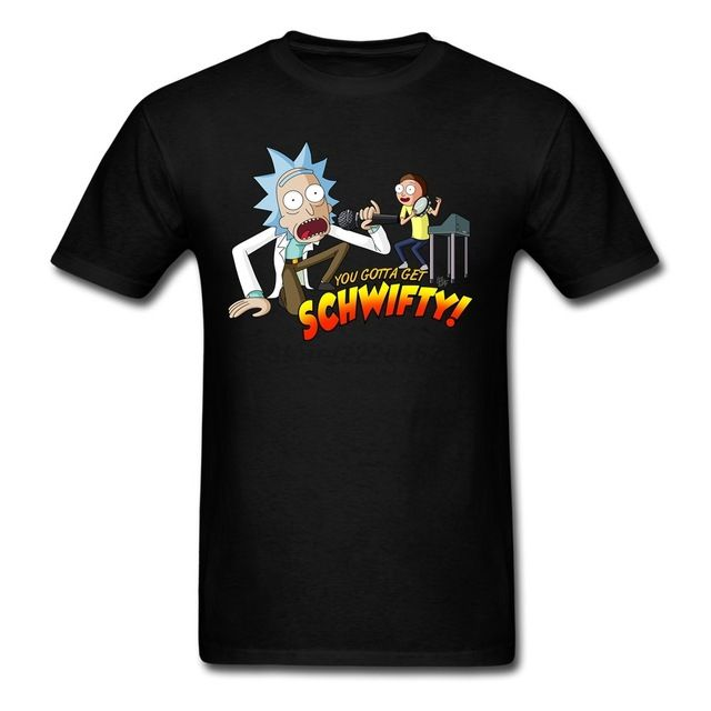 Special offer You Gotta Get Schwifty T-Shirt Men Graphics Crew neck tshirt 100% Cotton Rick and Morty t shirt Teenager Tops just only $12.00 with free shipping worldwide  #tshirtsformen Plese click on picture to see our special price for you
