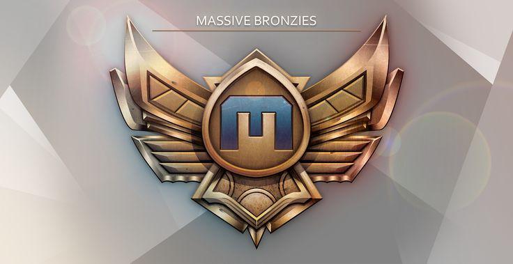 ArtStation - Massive Bronzies Logo - League of Legends, Gavin Bird