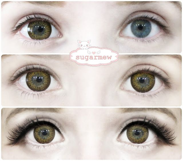 Ick Garnet Brown Circle Lenses Blend Adorably With Light