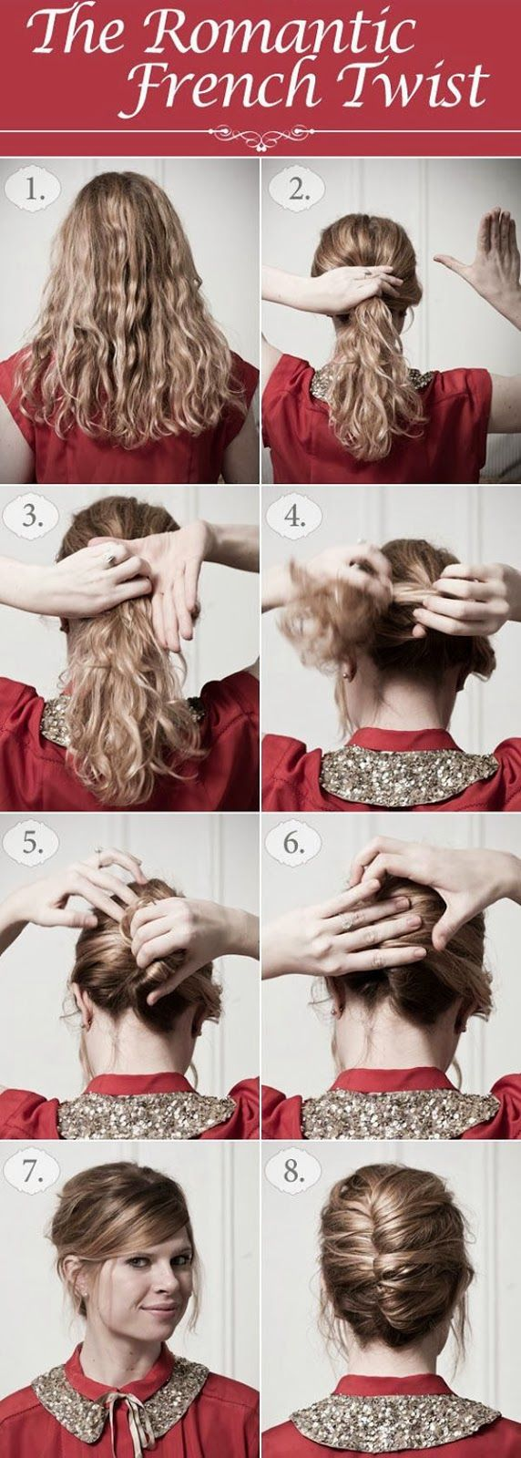 77 best diy hairstyles images on pinterest beauty tips coiffure looking for an updo idea without the hassle try this simple hair tutorial for the always romantic french twist updo solutioingenieria Images