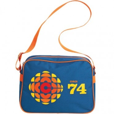 100% Nylon Mod Bag featuring the 70s logo and colours. With over the shoulder strap and full top zip closer.