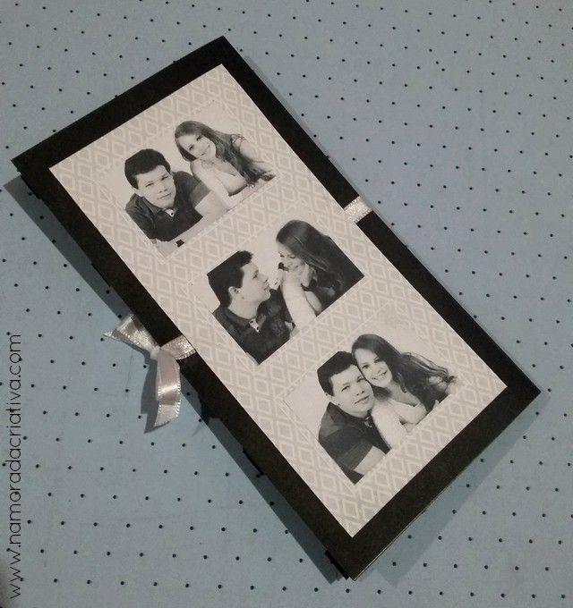 DIY - Cartão Amo Você - Namorada Criativa - 12