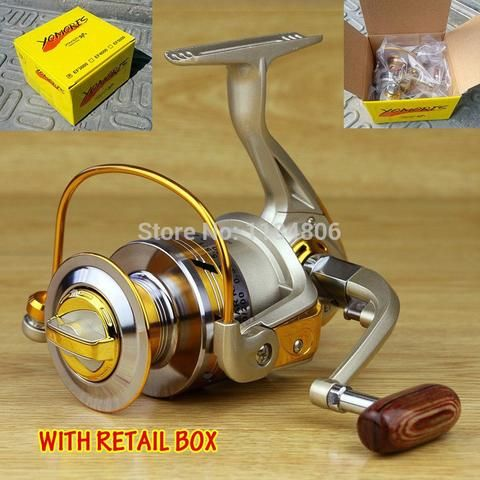 2014 new Spool Aluminum Spinning fly fishing reel baitcasting fishing reels saltwater okuma baitrunner metal front drag - Safaryworld.com - 1