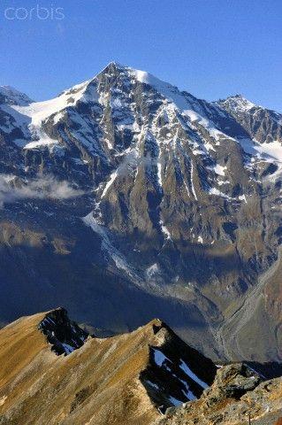 Grossglockner, the highest mountain in Austria