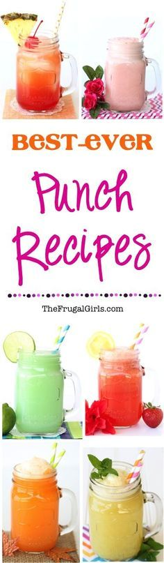 Best ever party punch recipes from for Easy alcoholic party drinks