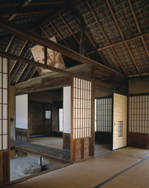 Traditional Japanese Interior.