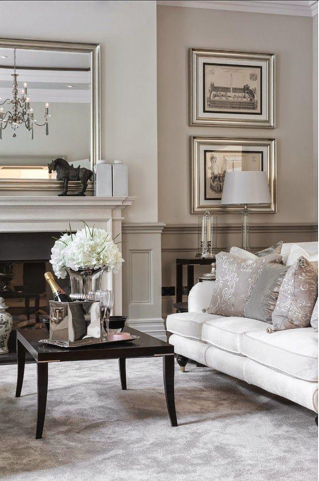 Beautiful Beige   Via Coco Lapine Design Blog | #shadesofwhite #livingroom Part 97