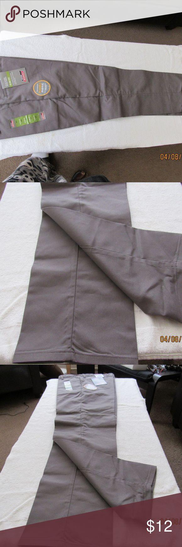 Men's Dickie work pants Gray Khaki Dickie Pants Dickies Pants Chinos & Khakis