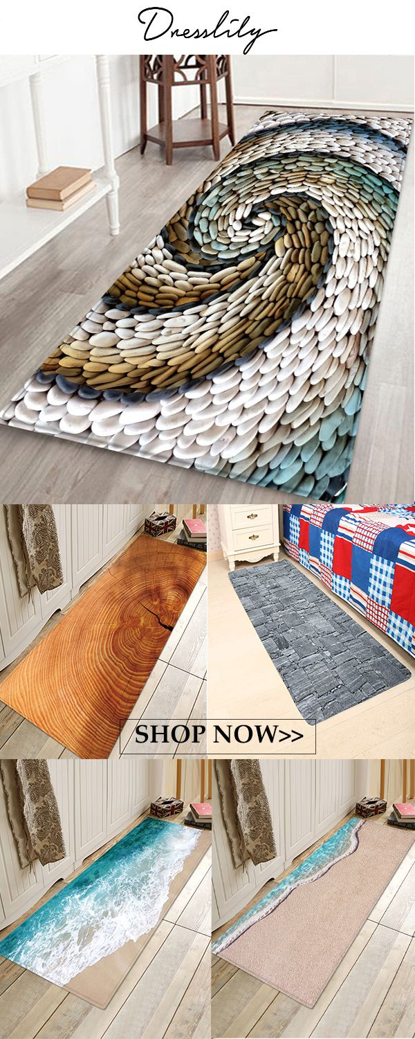 Stone And Wood Style Beach Style Mat Extra 12 Off Code Dl123 Dresslily Mats Rugs Cheap Bathroom Accessories Bathroom Rugs Contemporary Bathroom Rugs