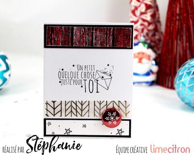 A World of Creative Possibilities: Lime Citron: un trio de cartes avec le kit des fêtes!