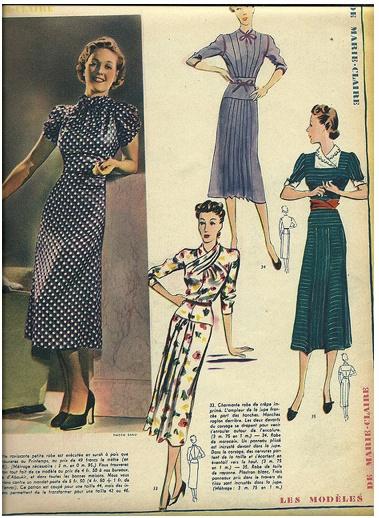fashion magazine, 30s