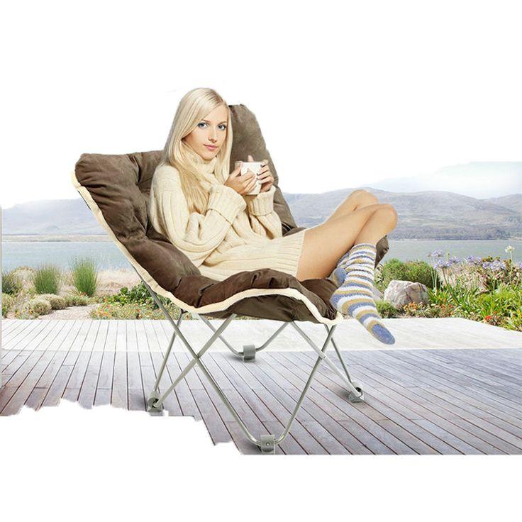 Sillas plegables Al Aire Libre Con Tumbonas Muebles Sillas de Playa Plegables almuerzo reclinable sofá Balcón silla Tumbona