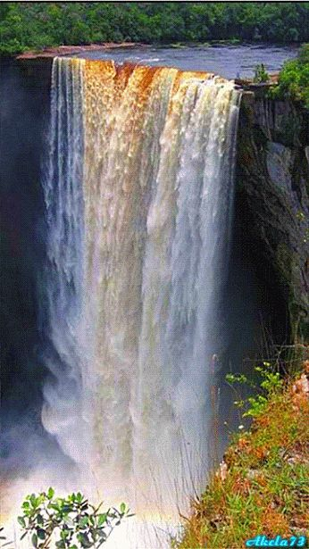Amazing Places - amazing gif :: Waterfalls