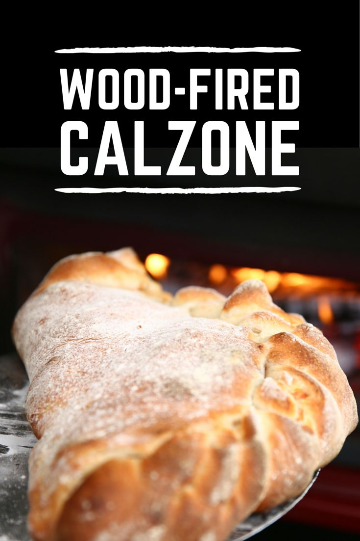 Homemade wooden meat smoker youtube - Wood Fired Calzone