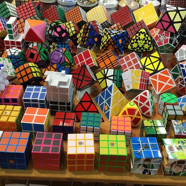 Awesome Rubik's Cube Collection