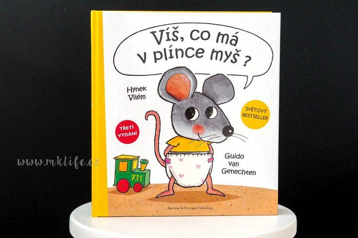 4x soutěž: kniHOVNIČKA | Co má myš v plínce? • mklife.cz