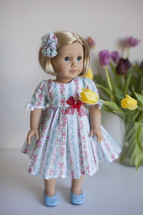 *Maisie Doll Dress & Top - Violette Field Threads - 1