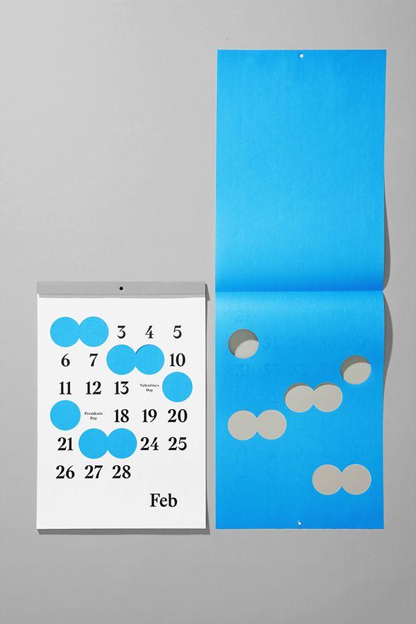 Studio Lin x Linco Printing 2014 Calendar by Studio Lin, via Behance