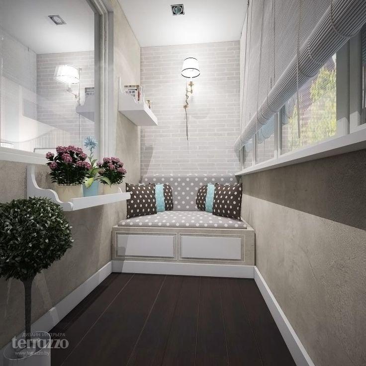 Дизайн Балкона: Дизайн-проект четырехкомнатной квартиры по ул. Белинского
