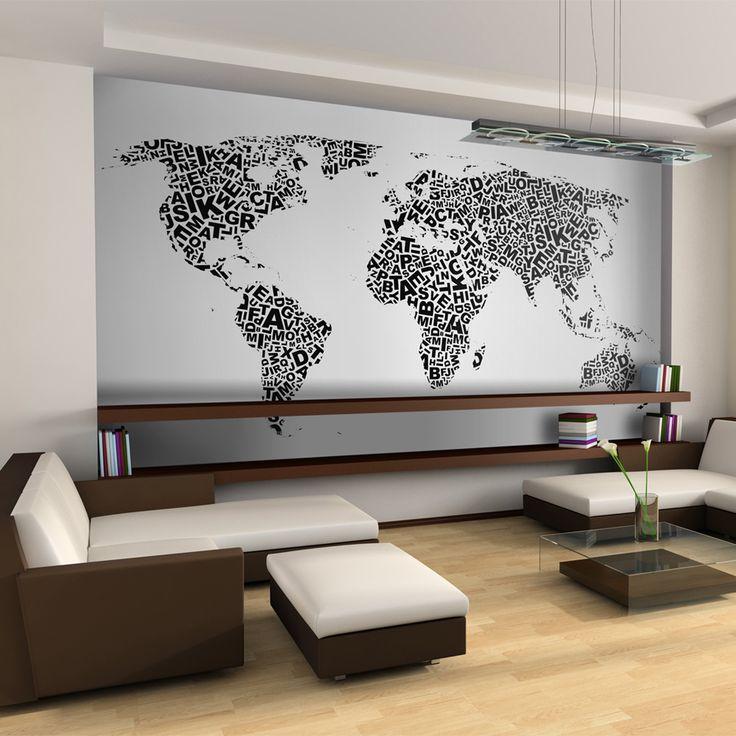 Votre intérieur est à 2 doigts de vous remercier  ---------------------------------------------------------------------  Papier peint XXL Carte de pensées  à 139,97€  sur https://www.recollection.fr/papiers-peints-xxl-carte-du-monde/14821-papier-peint-xxl-carte-de-pensees-3664551158770.html  #Carte du monde #mobilier #deco #Artgeist #recollection #decointerior #interiordesign #design #home  ---------------------------------------------------------------------  Mobilier design et décoration…