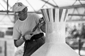 Scolpire in Piazza: l'arte contemporanea si confronta con la pietra arenaria