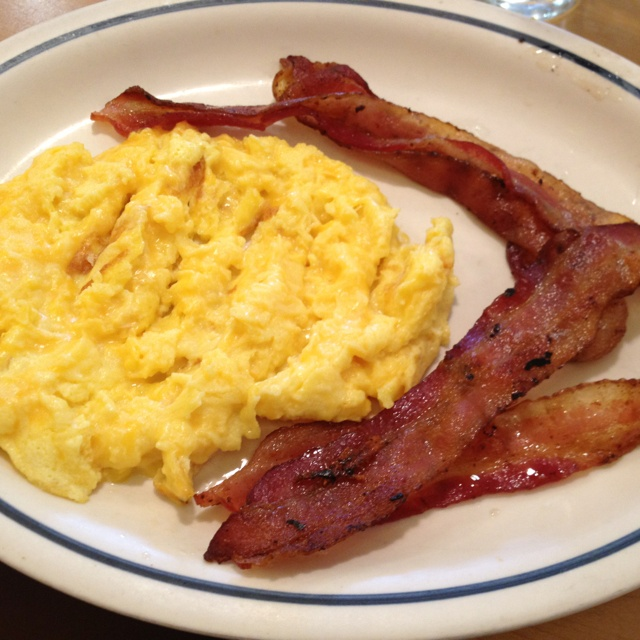 Bacon & Cheesy Scrambled Eggs @ IHOP | breakfast ...