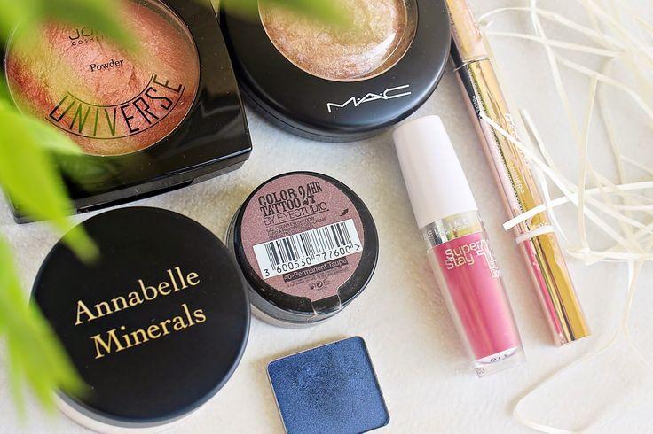 Inspiruje mnie życie...: #makeupfavorites | Ulubione kosmetyki do makijażu ostatnich tygodni