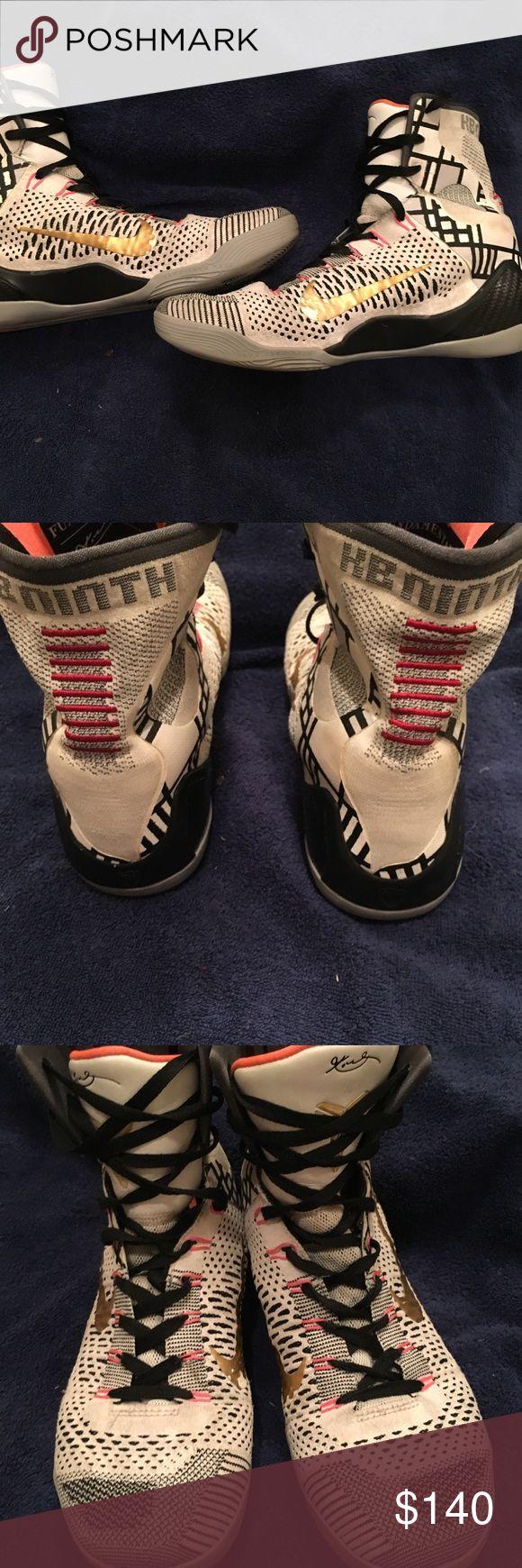 "Kobe 9 elite ""Fundamentals"" Kobe 9 fundamentals size 10.5 Nike Shoes Sneakers"