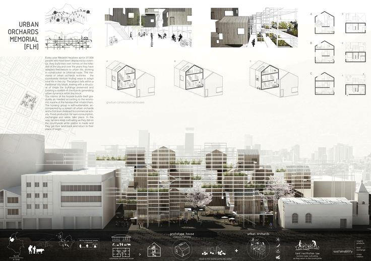 First Prize MESH Architecture Student Competition | D+C - Catherine Preciado Santa, David Cadavid Castañeda | National Colombian University. Medellin | 2014
