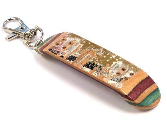 Tech Deck Keychain