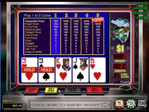 Free video poker games to play