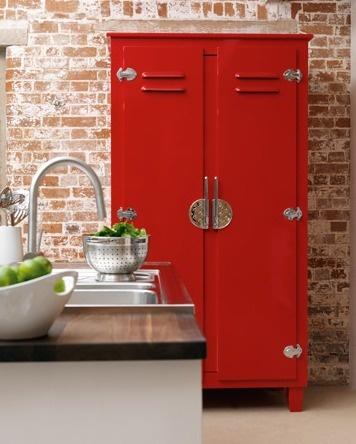 john-lewis - Lockers as kitchen cabinets, good idea