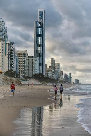 Surfers Paradise Beach, Queensland #Australia