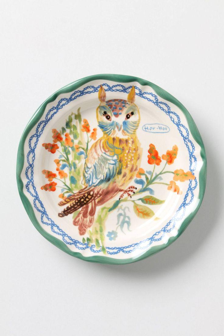 Home Eating Dinnerware Deep Plates - Hou hou dinner plate anthropologie com