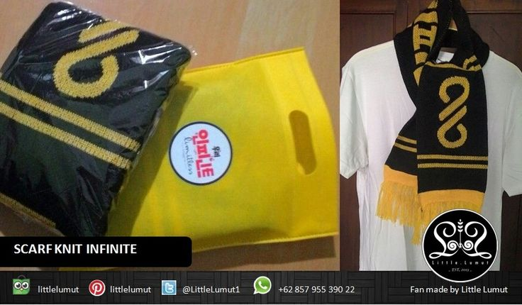 SCARF KNIT INFINITE + Packaging