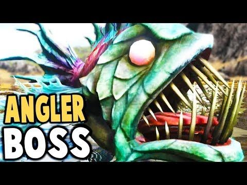 Cool ark survival evolved new angler fish boss insane for Angler fish ark