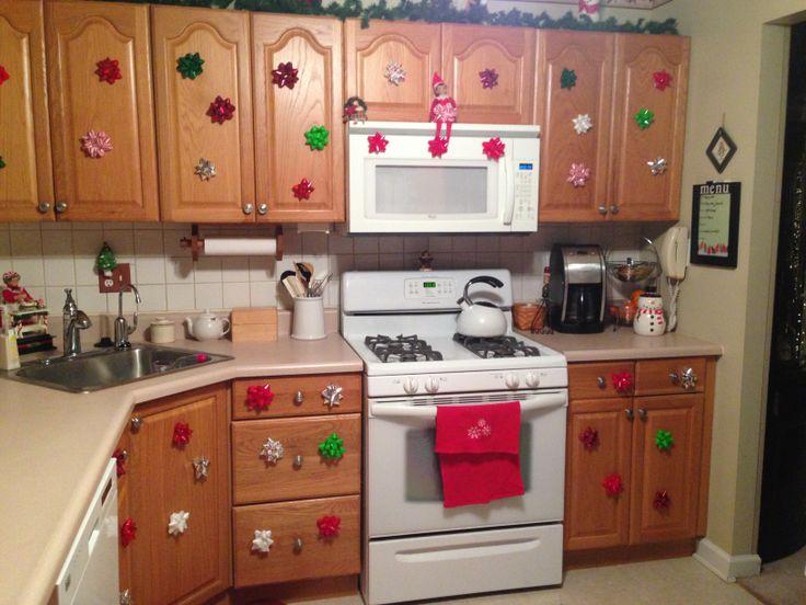 Elf On The Shelf Decorating The Kitchen Celebrate